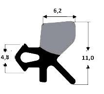 Verglasungsdichtung Kömmerling VGM 10350