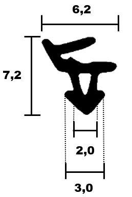 Fensterdichtungen Rehau 02 - HR 1726