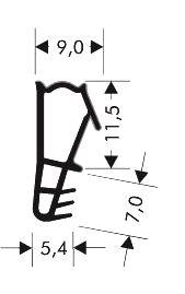 Holzfensterdichtung weich HO - FS - 0125