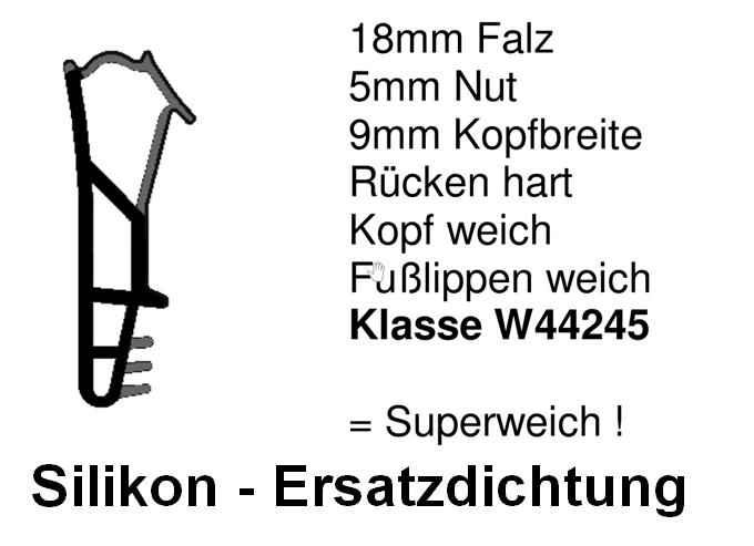 Holzfensterdichtung weich HO - FS - 0185