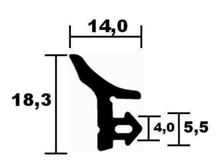 Fensterdichtungen KBE 02 -  HR 6831